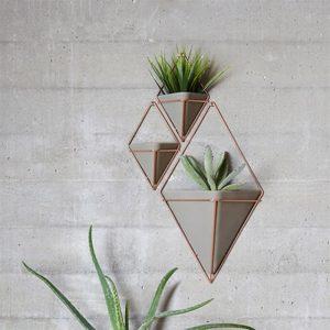Geometric fali virágtartó