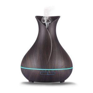 Aromaterápiás párologtató váza – dió