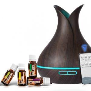 Aromaterápiás diffúzor CSOMAG – dió