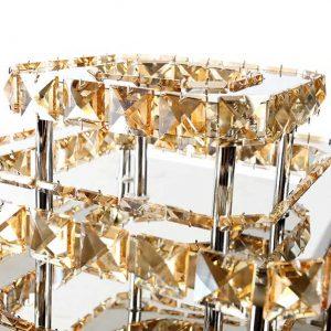 Modern kristály mennyezeti lámpa