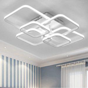 Lustre mennyezeti modern led lámpa