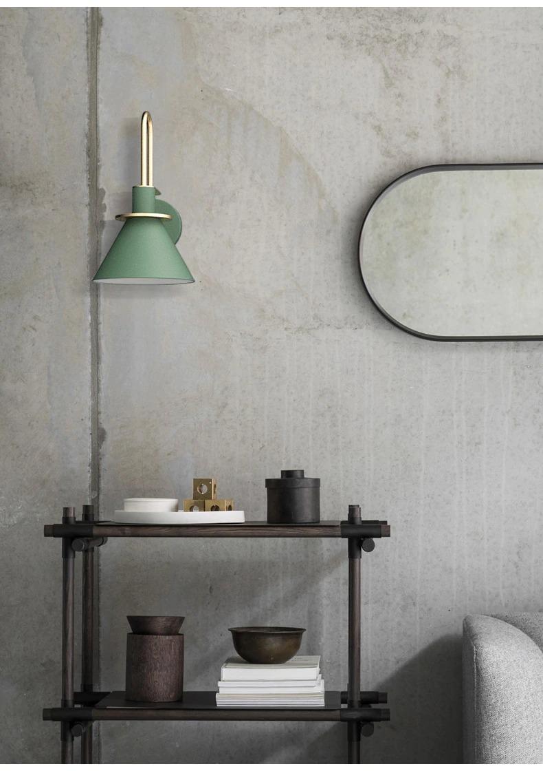 modern minimalist fali lámpa design