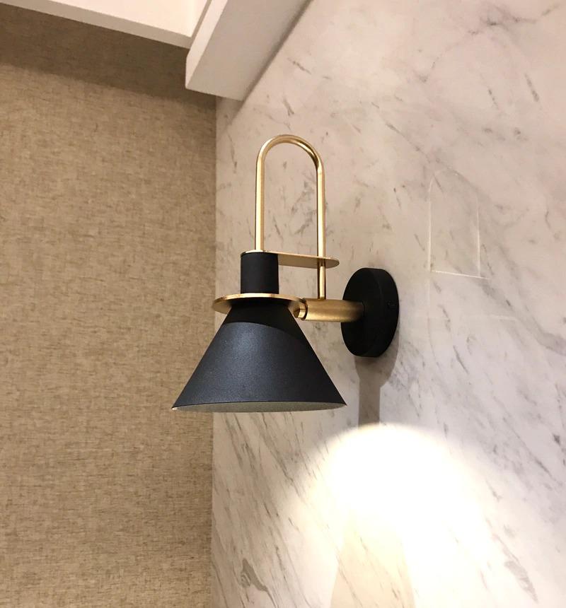 modern minimalist fali lámpa elegnt