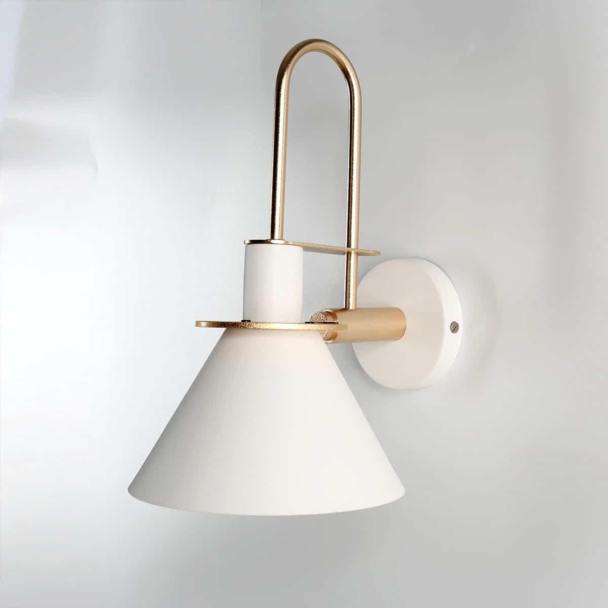 modern minimalist fali lámpa fehér 05