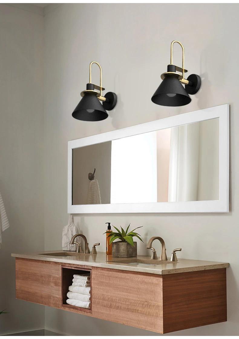 modern minimalist fali lámpa modern bathroom