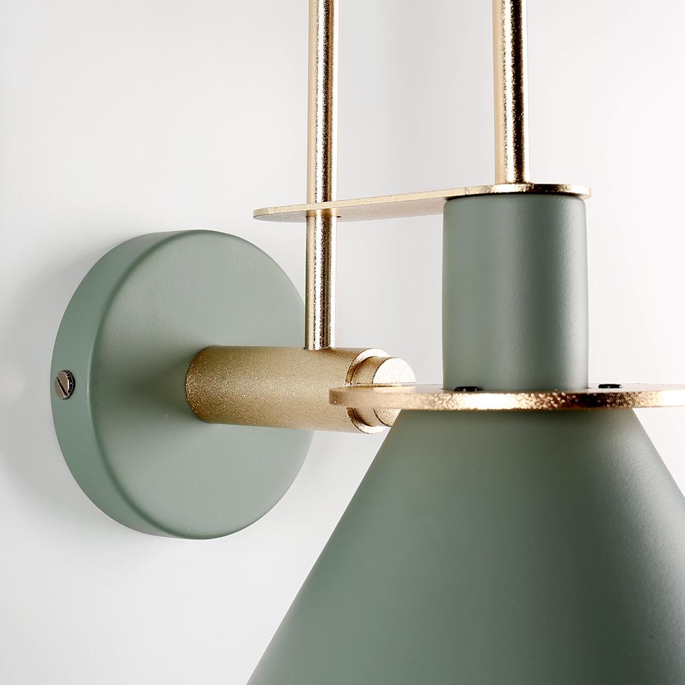 modern minimalist fali lámpa oliva 4