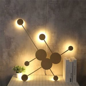 Colony modern fali LED lámpa