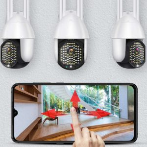 Kültéri 5MP wifi IP kamera