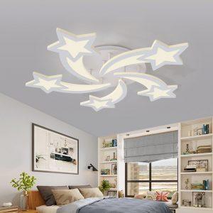 Starfall mennyezeti modern LED lámpa